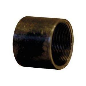 Afy 2701012N - Manchon 2701 tube soudé filetage cylindrique longueur 26mm noir D12x17