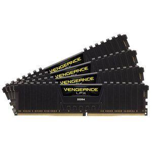 Corsair CMK64GX4M4B3466C16 - Barrette mémoire Vengeance LPX 64 Go (4x 16 Go) DDR4 3466 MHz CL16