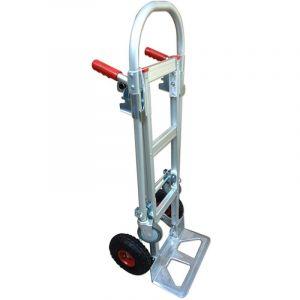 Zolux Diable-chariot aluminium - 2 en 1 - 250-350 kg