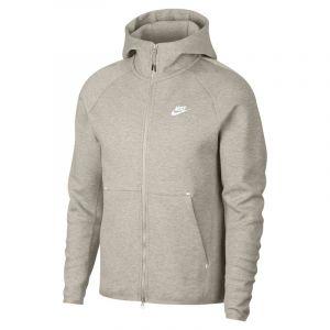 Nike Sweatà capuche entièrement zippé Sportswear Tech Fleece pour Homme - Crème - Couleur Crème - Taille XS