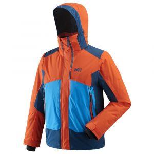 Millet Veste de ski alpin et freeride 7/24 stretch jkt orange l