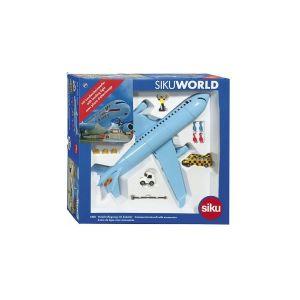 Siku Verkehrsflugzeug mit Zubehör modèle d'avion, 5402, Bleu