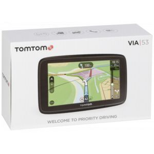 TomTom Via 53 Europe Traffic - GPS auto