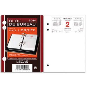 Lecas Recharge bloc éphéméride année 2012 (8.5 x 11.5 cm)