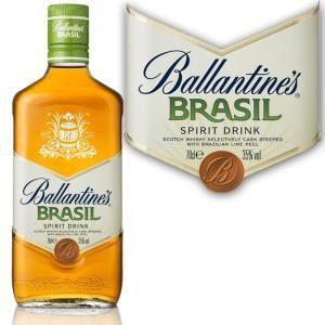 Ballantine's Brasil - Whisky macéré dans des fûts avec des pelures de citron du Brésil