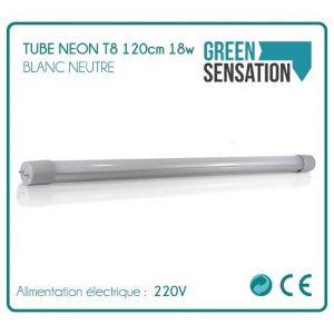 Desineo Tube Néon T8 120cm 18w 1700Lm Blanc neutre économie par LED -