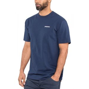 Patagonia P-6 Logo Responsibili-Tee - T-shirt taille M, bleu