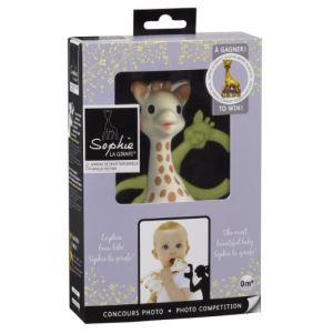 Vulli Coffret Sophie Award : Hochet Sophie la girafe avec anneau de dentition vanille