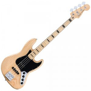 Fender Mexican Jazz-Bass Deluxe Active Natural