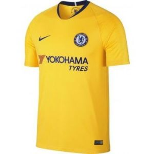 Nike Maillot de football 2018/19 Chelsea FC Stadium Away pour Homme - Jaune Taille XL
