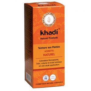 Khadi Coloration végétale Noisette Naturel Châtain Foncé