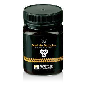 Comptoirs et Compagnies Miel de Manuka UMF 5+ Pot de 500g