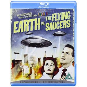 Import Earth vs The Flying Saucers Blu-Ray