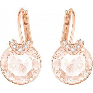 Swarovski Boucles d'oreilles 5299318 - Boucles d'oreilles Cristaux doré rose Femme