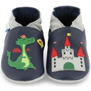Robeez Knightcastle, Chaussures de Naissance Mixte Bébé, Bleu (Marine 10), 21/22 EU