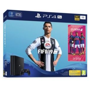 Sony Console PS4 Pro 1To + FIFA19