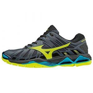 Mizuno Chaussures Indoor Wave Tornado X2 Homme Noir/Vert/Bleu 45