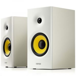 Edifier R1080BT - Set d'enceintes multimédias - 24 W RMS - Bluetooth 5.0 - Blanc