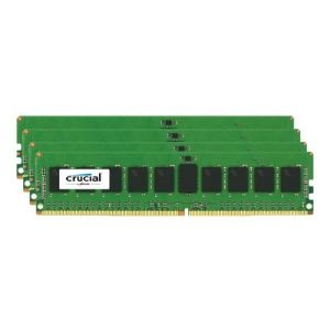 Crucial CT4K8G4RFS4213 - Barrettes mémoire 4 x 8 Go DDR4 2133 MHz CL15 RDIMM 288 broches