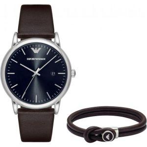 Emporio Armani AR80008 - Montre pour homme avec un bracelet