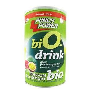 Punch power BioDrink antioxydant goût Passion Goyave 500 g