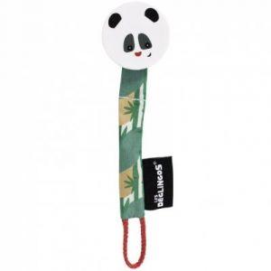 Les Déglingos Attache sucette rototos le panda