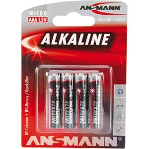 Ansmann Pile Alcaline LR03 x4