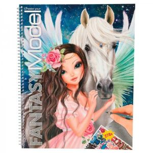 Depesche Top Model Album de coloriage Fantasy