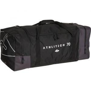 Athli-tech ATHLITECH Sac de sport I-Zy Flex Bag 70 - Noir et gris - ATHLITECH Sac de sport I-Zy Flex Bag 70 - Fermeture zippée - Coloris : noir et gris