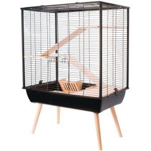 Zolux Cage Neo cosy pour grands rongeurs 80 cm Noir