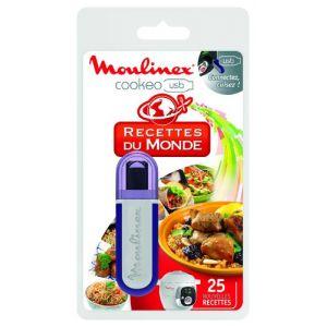 Moulinex XA600111 - Clé USB Cookeo 25 recettes du monde