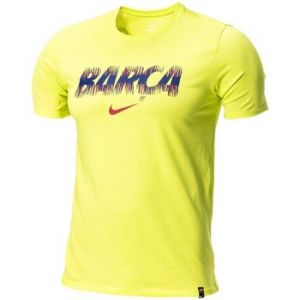 Nike Tee-shirt FC Barcelona Dri-FIT pour Homme - Vert - Taille L - Male