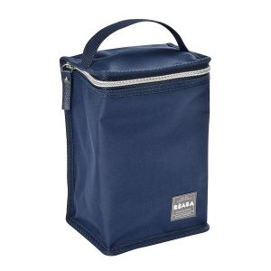 Beaba Pochette repas isotherme blue/silver