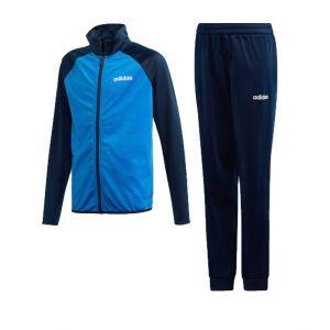 Adidas Survêtement Yb Ts Entry Bleu marine / Blanc - Taille 14 Ans