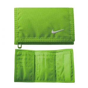 Nike Portefeuilles -accessories Basic Wallet - Voltage Green / White - Taille One Size