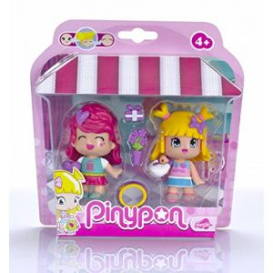 Famosa Coffret 2 figurines PinyPon City Shopping