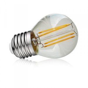 Vision-El Ampoule LED COB Bulb G45 E27 - Transparent Claire - Filament 4W 4000°K Boite