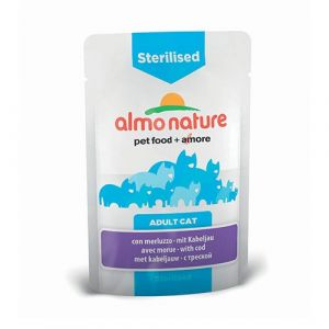 Almo Nature Chat Sterilised Morue