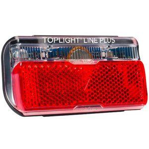 Busch & Müller Lampe diode arrière Toplight Line Plus 2014 rouge Accessoires vélo Eclairage Lampe dynamo
