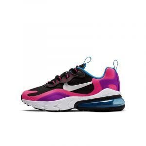 Nike Chaussure Air Max 270 React pour Enfant plus âgé - Noir - Taille 35.5