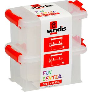 Sundis Boites Fun Center 0,35l - Les 2 Boites