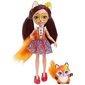 Mattel Poupée Enchantimals Felicity Renard