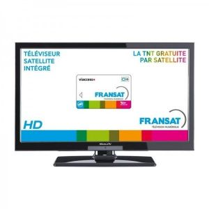 MOBILETV TV20FRANSAT - Télévision LED 49 cm DVD intégré + Pack FRANSAT