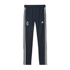 Adidas Real Madrid Bas de Survêtement - Teconi/Blanc Enfant - Bleu - Taille 152 cm