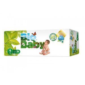 Moltex Couche Bio Baby taille 4 (9-13 kg)