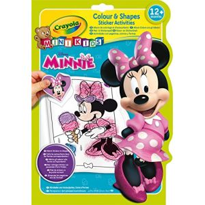 Crayola Album de coloriage et d'autocollants Minnie