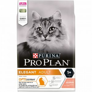 Purina Cat Optiderma Elegant Adult Saumon 3 kg