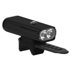 Lezyne Lite Drive 1000 XL Eclairage vélo/VTT LED Rechargeable USB Mixte Adulte, Black, FR Unique
