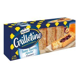 Pasquier Grillettines sans sucre ajoutés