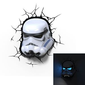 3D light FX Applique 3D Deco Light Stormtrooper Star Wars